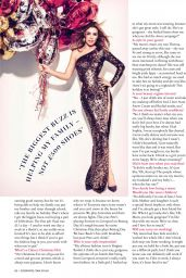 Abbey Clancy - Cosmopolitan Magazine (UK) - January 2015 Issue