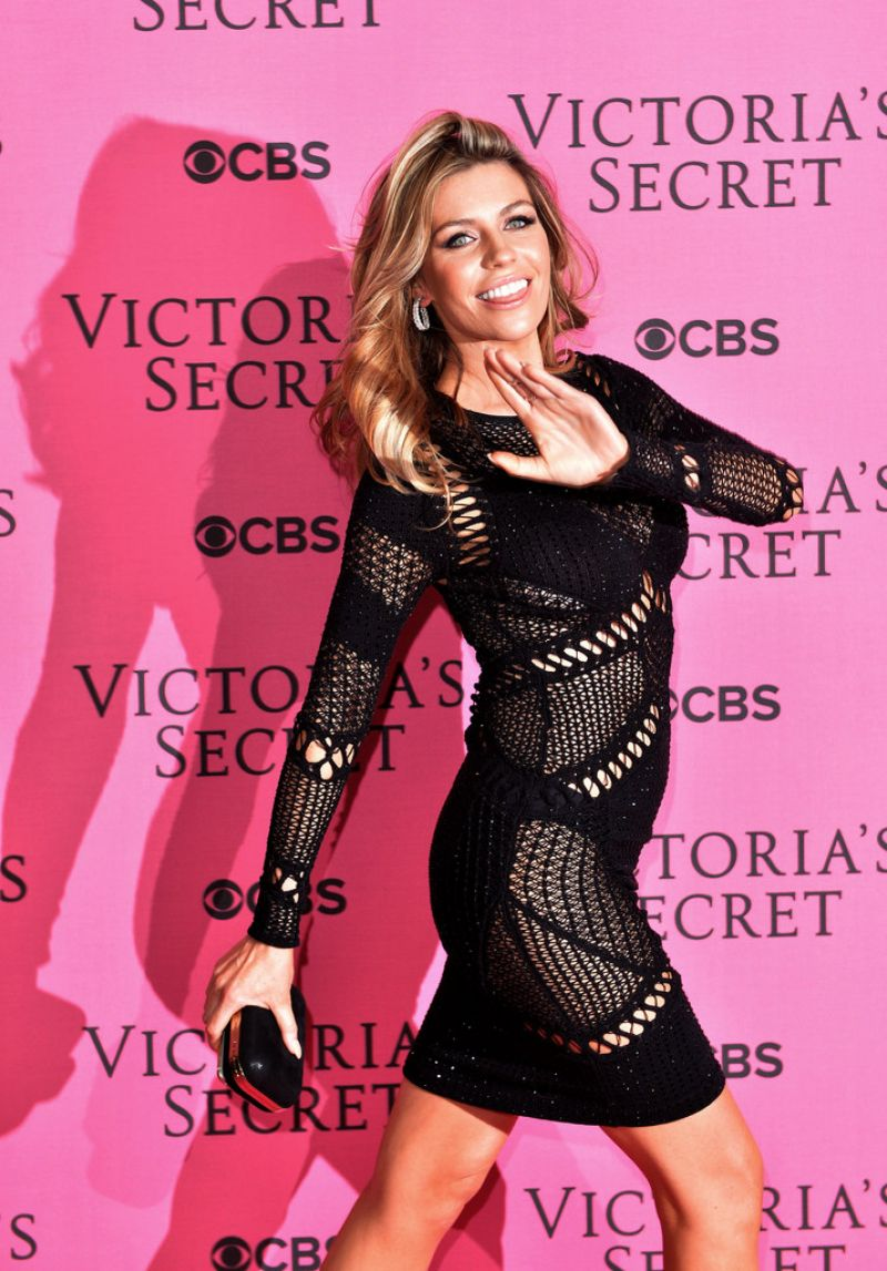 Abbey Clancy Red Carpet Photos - 2014 Victoria