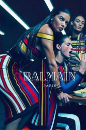 Adriana Lima, Rosie Huntington-Whiteley, Isabeli Fontana - Balmain Campaign - Spring/Summer 2015