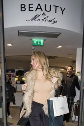 Aisleyne Horgan Wallace at Beauty & Melody in Mayfair in London - December 2014