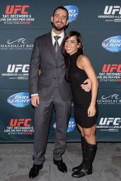 AJ Lee - UFC 181 in Las Vegas - December 2014