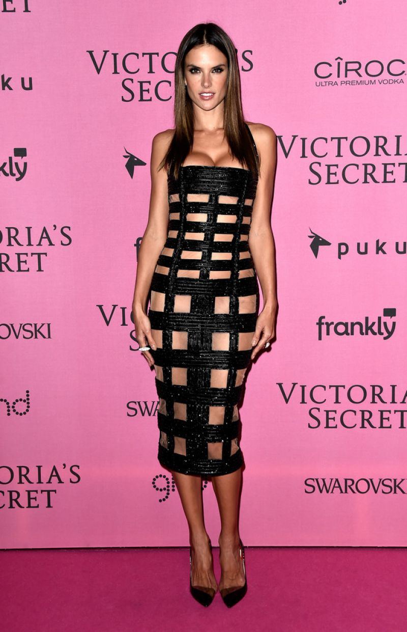 Alessandra Ambrosio – 2014 Victoria's Secret Fashion Show in London – After Party