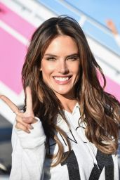 Alessandra Ambrosio – Departing For the London For 2014 Victoria's Secret Fashion Show