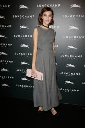 Alexa Chung – 'Longchamp' Elysees Lights on Party Photocall in Paris, France, Dec. 2014