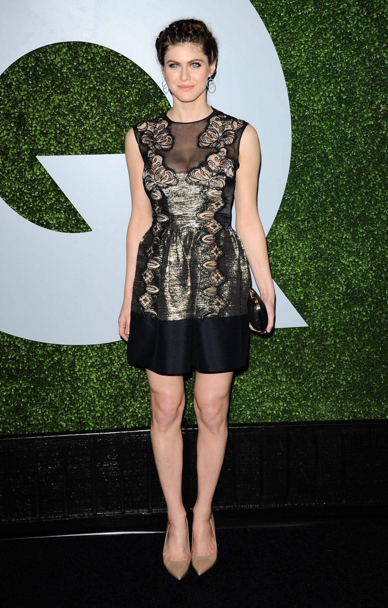 Alexandra Daddario 2014 Gq Men Of The Year Party In Los