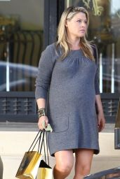 Ali Larter Leggy - Shopping in Beverly Hills - December 2014