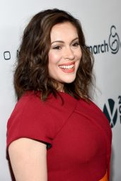 Alyssa Milano - March Of Dimes Celebration Of Babies in Beverly Hills - December 2014