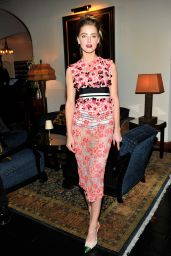 Amber Heard - MAC and Vogue Celebrate Giambattista Valli in Los Angeles (2014)