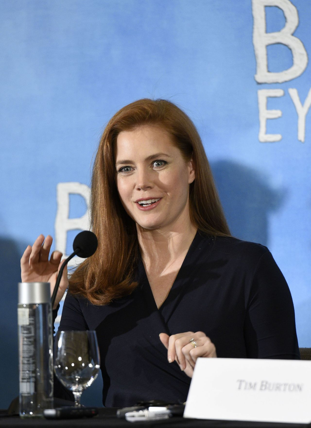 Amy Adams – 'Big Eyes' Press Conference in New York City