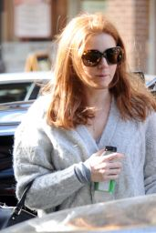 Amy Adams in Tight Jeans - Out in New York City, December 2014