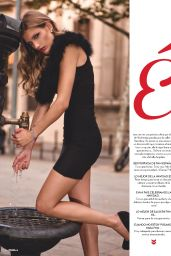 Angeline Suppiger - FHM Magazine (Spain) - December 2014 Issue
