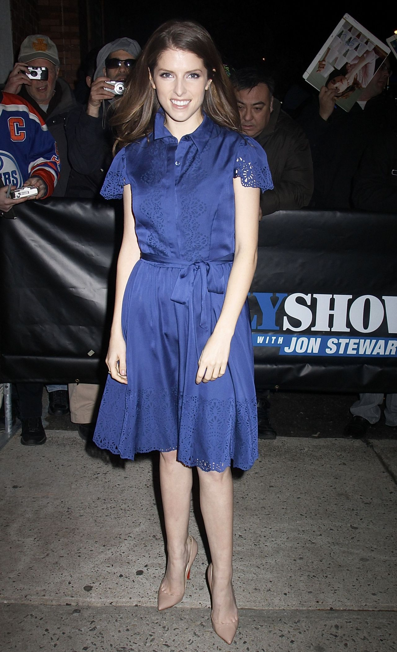 Anna Kendrick Arriving to Appear on The Daily Show in New York City - December 2014
