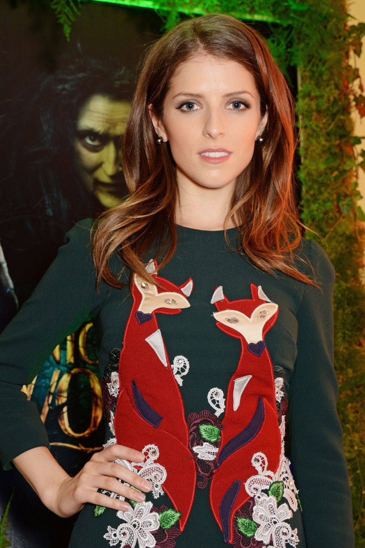 Anna Kendrick Into The Woods Screening In London