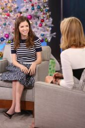 Anna Kendrick Tapes an Appearance on Good Morning America in New York City - Dec. 2014