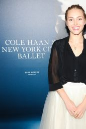 AnnaSophia Robb - An Evening With Cole Haan at New York City Ballet - Dec. 2014