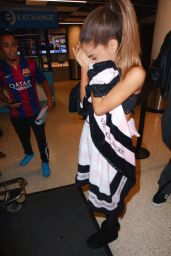 Ariana Grande at LAX Airport - December 2014