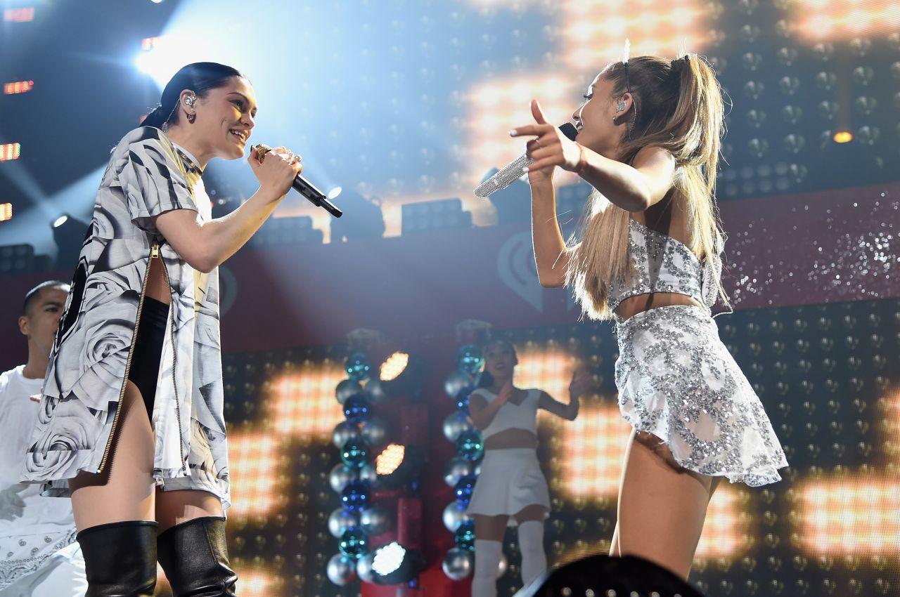 Ariana Grande: Performs at HOT 99 5s Jingle Ball 2014 -09