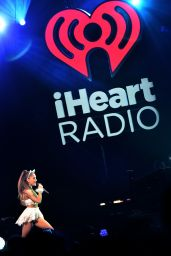Ariana Grande Performs at Q102