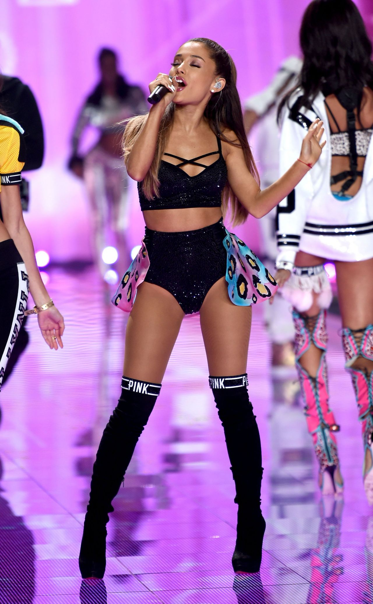 Ariana Grande Performs at Victoriau0026#39;s Secret Fashion Show in London - December 2014