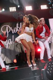 Ariana Grande Performs at Z100's Jingle Ball 2014 in New York City