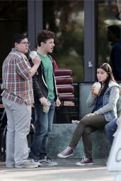Ariel Winter - Filming