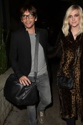 Ashlee Simpson Night Out Style - Out in Los Angeles, December 2014