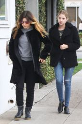 Ashley Benson in Ripped Jeans - Out Shopping in West Hollywood, Dec. 2014