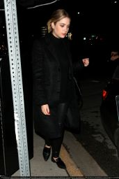 Ashley Benson Night Out Style - Leaving The Nice Guy Nightclub in West Hollywood