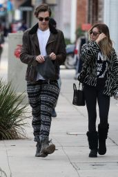 Ashley Tisdale and Christopher French - Out in Studio City, December 2014