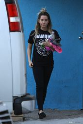 Ashley Tisdale - at a Gym in Studio City - December 2014