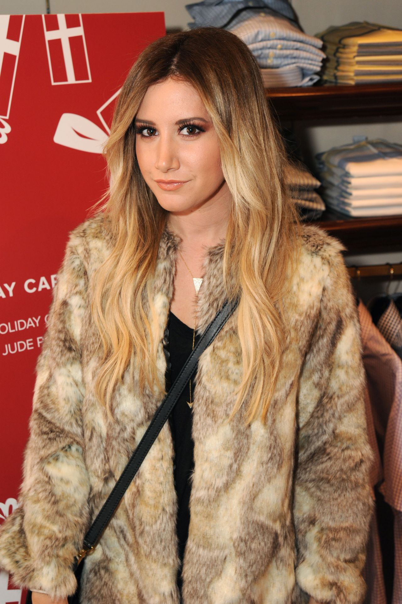Ashley Tisdale - Brooks Brothers Celebrates the Holidays, St. Jude Research Hospital, Dec. 2014