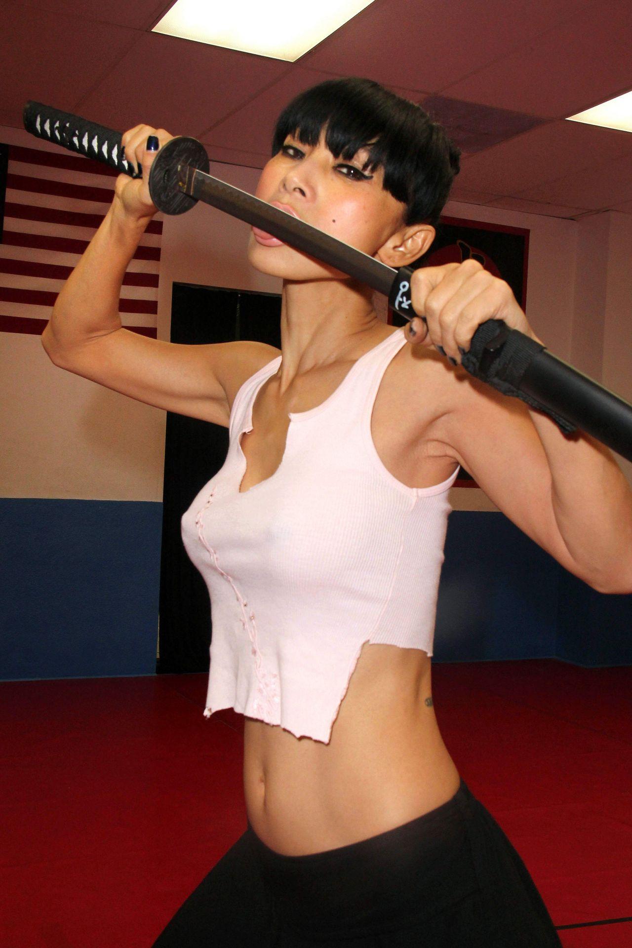 Bai Ling - Martial Arts Training In Los Angeles - December -4922