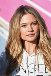 Behati Prinsloo - Departing For the London For 2014 Victoria