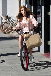 Bella Thorne Candid Photoshoot - December 2014