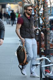 Blake Lively and Her Husband Ryan Reynolds - Out in NYC, Dec. 2014