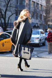 Blake Lively Fashion - Out in New York City - December 2014
