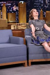 Brie Larson - The Tonight Show with Jimmy Fallon - December 2014