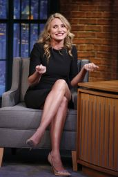 Cameron Diaz Appeared on Late Night With Seth Meyers - December 2014