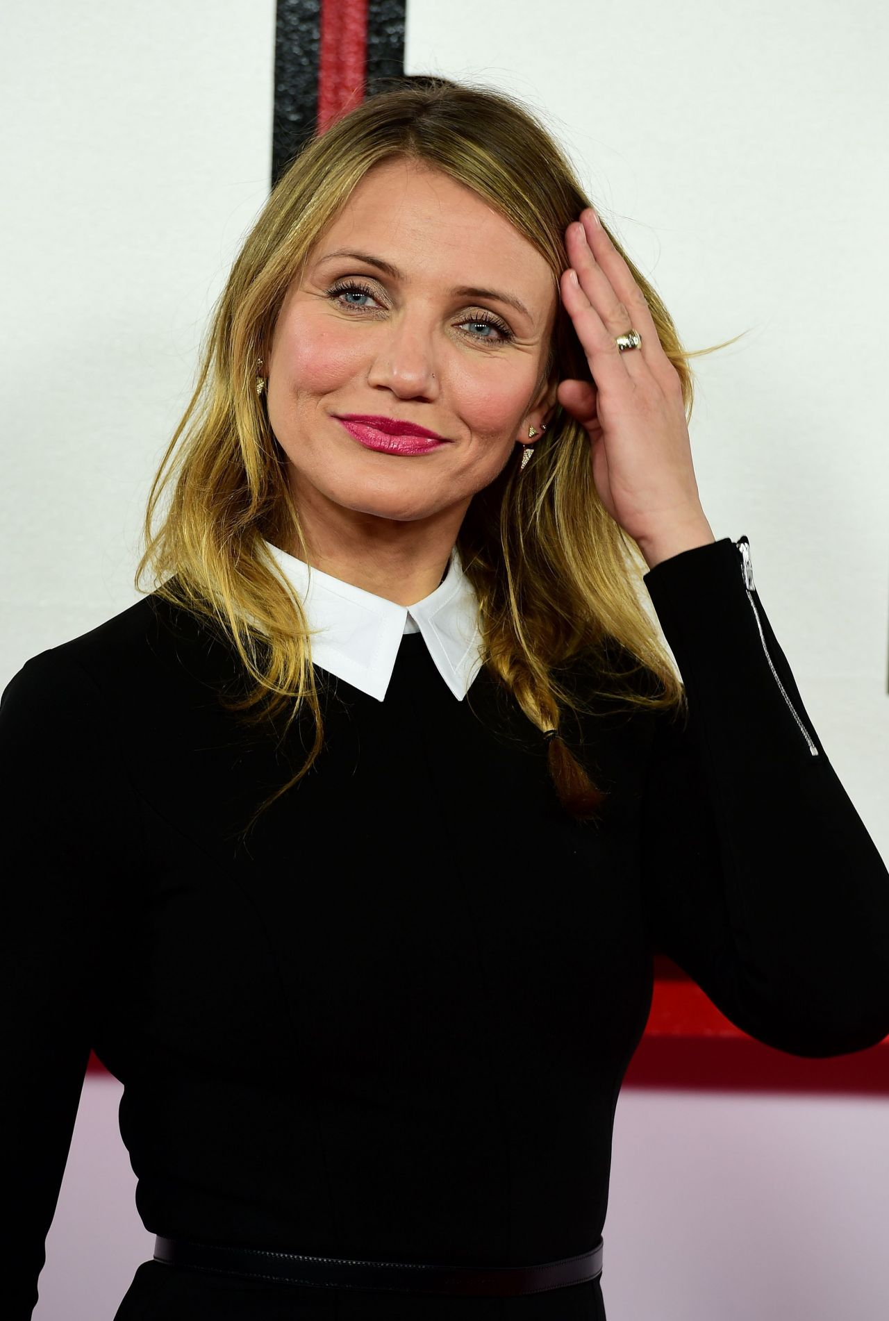 Cameron Diaz Photocall For Annie At Corinthia Hotel