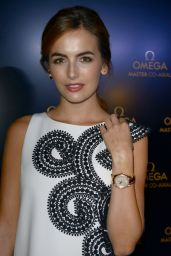 Camilla Belle - Omega Store Opening in Miami - December 2014
