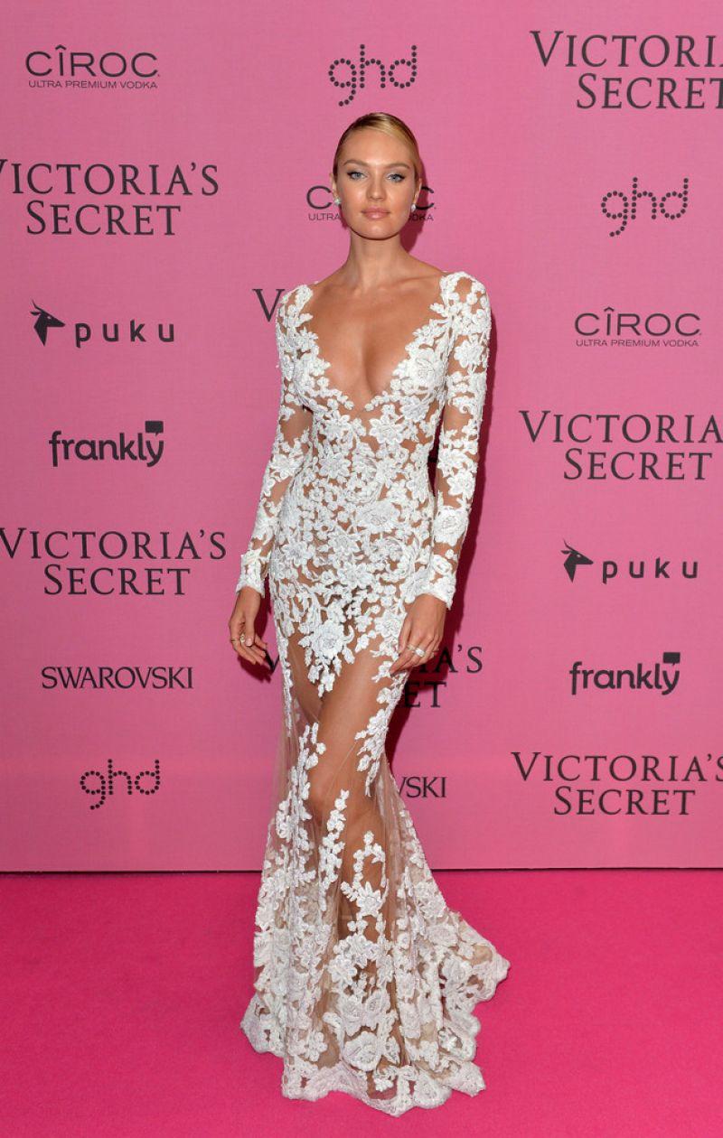 Candice Swanepoel  2014 Victorias Secret Fashion Show In -8588