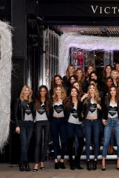 Candice Swanepoel - 2014 VS Fashion Show - Bond Street Media Event in London