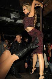 Carmen Electra - The Abbey Club in West Hollywood, Dec. 2014