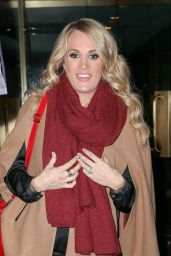 Carrie Underwood Leaving the