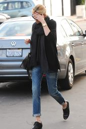 Charlize Theron - Exiting After Sushi Dinner in Los Angeles, December 2014