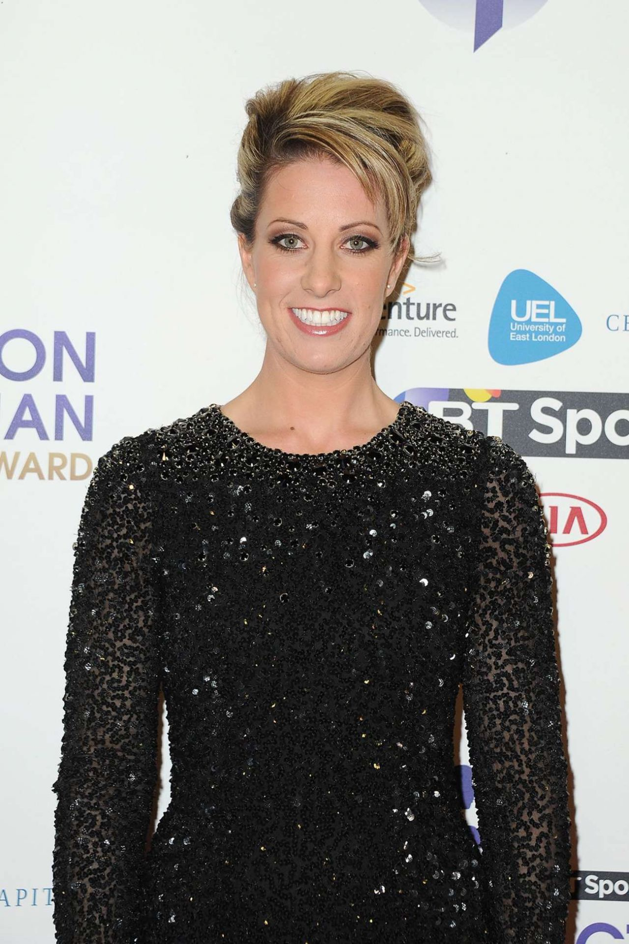 Charlotte dujardin 2014 bt sport action woman awards in for Dujardin olivier