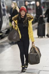 Chelsee Healey - Out at Piccadilly in London, December 2014