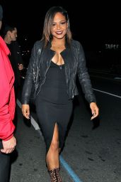 Christina Milian Night Out Style - Warwick Club in Los Angeles, Dec. 2014