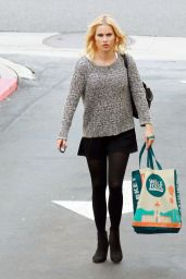 Claire Holt Shows Off Her Perfect Legs - at Whole Foods in West Hollywood, Dec. 2014