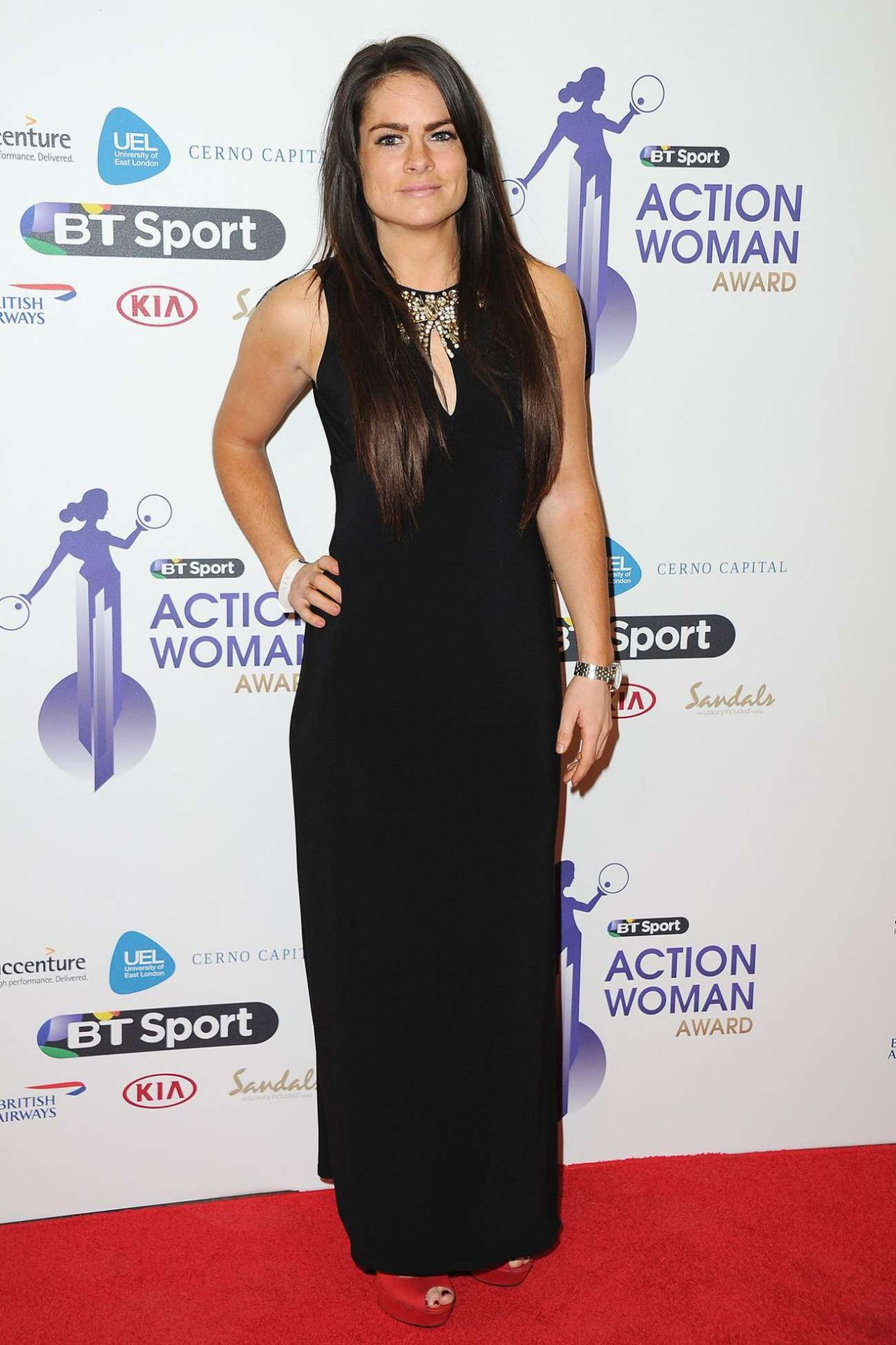 Claire Rafferty – 2014 BT Sport Action Woman Awards in London